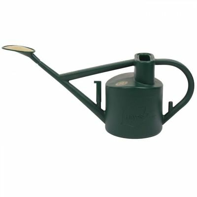 Haws Green Plastic Practican Garden Watering Can with Rose Attachment 6 Litre