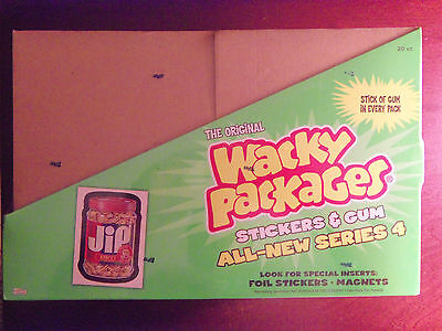 SEALED 2006 Topps Wacky Packages ANS4 All New Series 4 Blister Pack Case 20 Pack