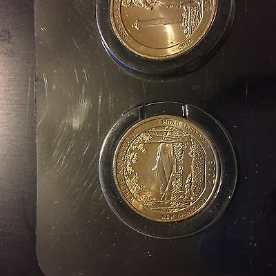 10 quarter set 2 white MT, Perrys, Basin, Ft McHenry, MT Rushmore