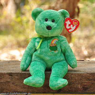 NEW Ty Beanie Babies - Killarney the Bear