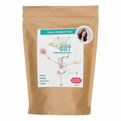 Supercharged Food Heal Your Gut Diatomaceous Earth Powder 250g