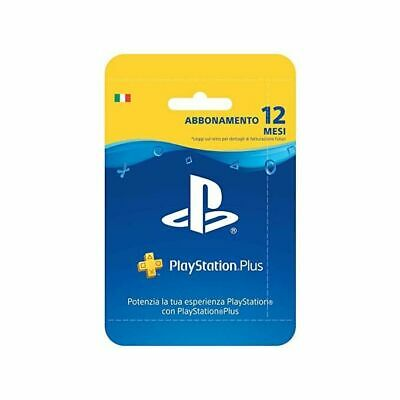 Playstation Plus Card PS Plus Hang Abbonamento 12 Mesi