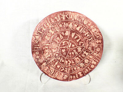 Phaistos Disc, Minoan Replica  Signed, Numbered Limited Edition, Free Book