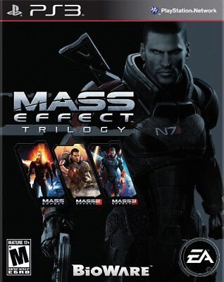 Mass Effect Trilogy PS3 PlayStation 3  Brand New