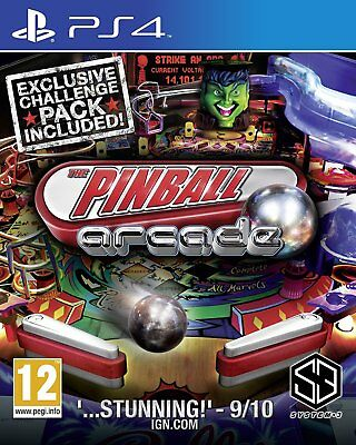 The Pinball Arcade PS4 | PlayStation 4 - Brand New