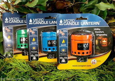 Uco 8 Hour Micro Candle Lantern Bushcraft Survival Camping Emergency Lighting
