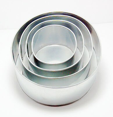 4 Tier Oval Shape Wedding Anniversary Birthday Cake Tin And Baking Pan