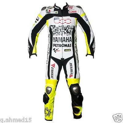 YAMAHA MOTOGP Motorcycle Leather Racing Suit Motorbike Leather Jacket Trouser