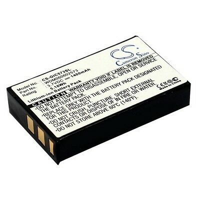 Replacement Battery For GIGABYTE GC-RAMDISK, GC-RAMDISK 1.2, GC-RAMDISK 1.1, i-R