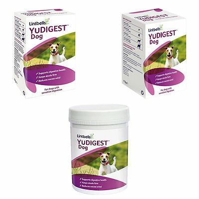 Yudigest Probiotic Digestive Support Supplement For Dogs 60/120/300 Tablets