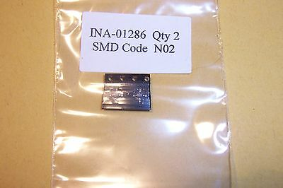 INA-02186 30db High gain low noise MMIC Amplifier DC-0.8Ghz Qty. 2 NOS HP parts