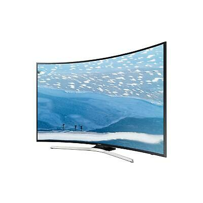 "Samsung UE55KU6100 Tv Led Curvo 55"" 4K Ultra Hd Smart Tv Wi-Fi Nero"