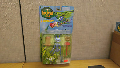 Mattel Bug's Life Hang Glider Flik action figure, Brand New!