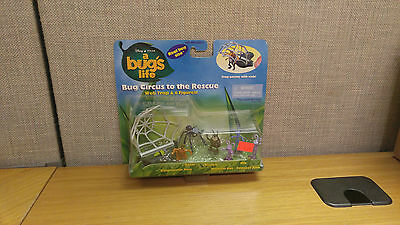 Mattel Bug's Life Bug Circus to the Rescue action figure set, Brand New!