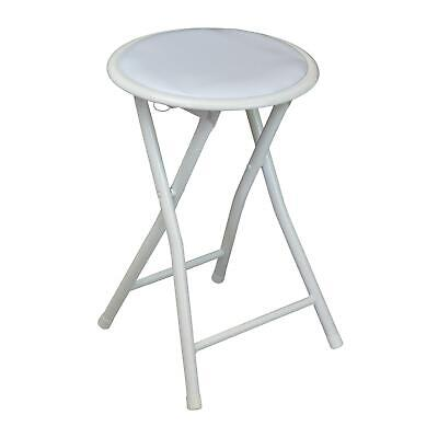 Incredible Round Folding Padded Stool Office Kitchen Breakfast Stools Unemploymentrelief Wooden Chair Designs For Living Room Unemploymentrelieforg