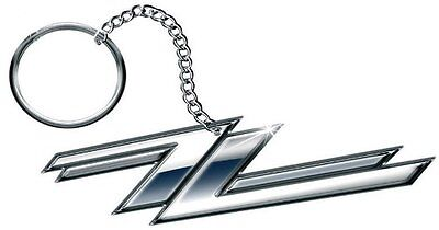 "ZZ Top ""Twin Zees"" Key Ring (100% Official Fob / Keyring)"