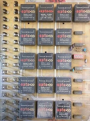 Lot Of 16 Opto 22 Solid State Relay Model P 120 D3 4-16V Solid State Relay Ssr