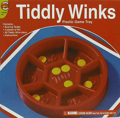 Pressman : Tiddly Winks  Game - New  - Made In Usa !  Free Shipping   #zpre-1527