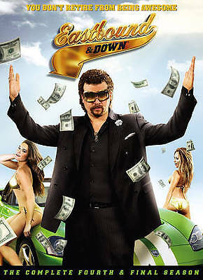 Eastbound & Down: The Complete Fourth & Final Season (DVD, 2014, 2-Disc Set) NEW