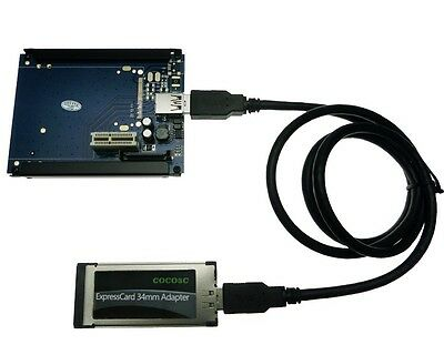 ExpressCard 34 To PCI-e x1 slot adapter Express card to PCI express converter