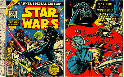 1977 Star Wars Comic Book #2 Marvel Special Edition Giant Whitman