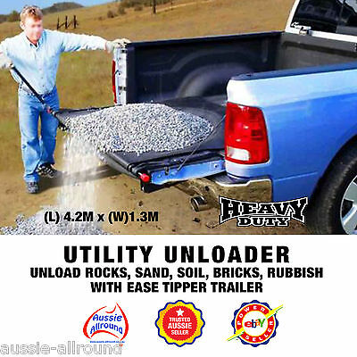 Ute Unloader® Quick And Easy - Removes Loads In a Flash Loadhandler  made easy!
