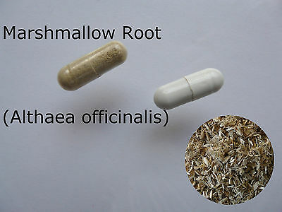 Marshmallow Root (Althaea officinalis) Dried, Powdered & Capsules 50 100 Herbal