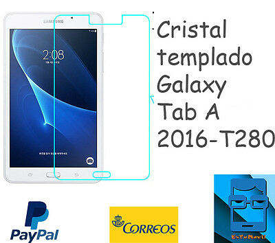 "Cristal templado tablet Galaxy Tab A 2016  7"" T280/285 -  tempered glass Samsung"