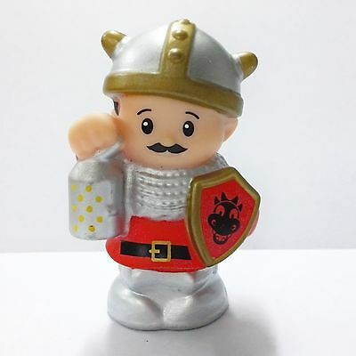 Fisher-Price Little People Red Knights 2014  Mighty Kings Castle Figure toy