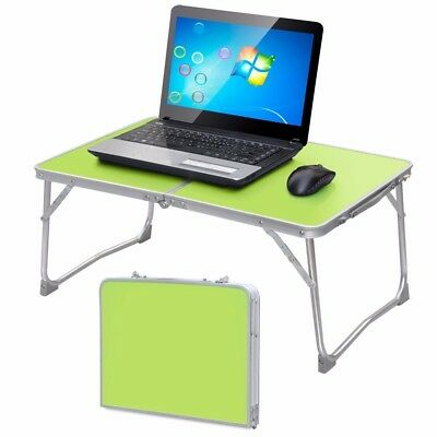 Green Folding Portable PC Notebook Table Laptop Desk Stand Picnic Camping Bed