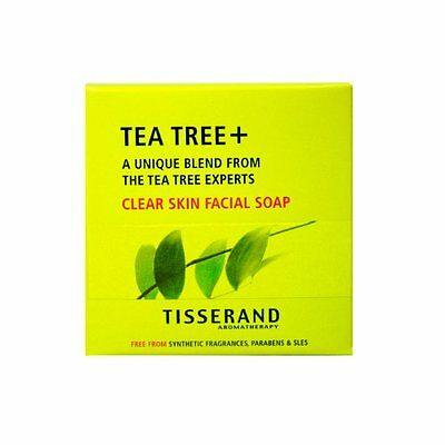 Anti Bacterial Tea Tree and Avocado Pure Vegetable Soap Tisserand 3.5 oz Bar