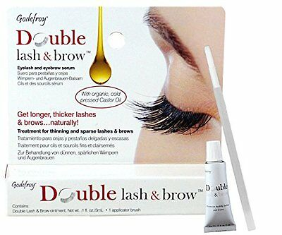 Godefroy Double Lash and Brow Treatment, for longer & thicker eyelash and eyebro