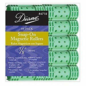 """Diane Snap-On Magnetic Rollers - 7/8"""" Green"""