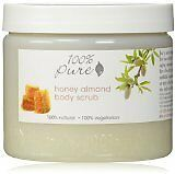100% Pure 100% Pure Honey Almond Body Scrub 15 oz