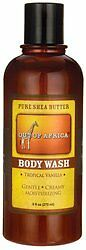 Out of Africa Liquid Body Wash, Tropical Vanilla, 9 Fluid Ounce