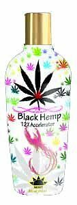 Most Products BLACK HEMP 12X Accelerator Tanning Lotion - 8.5 oz.