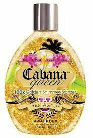 Tan Asz U CABANA QUEEN 100X Golden Shimmer Bronzer - 13.5 oz.