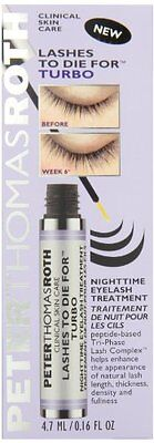 Peter Thomas Roth Lashes To Die for Turbo Nighttime Eyelash Treatment, 0.16 Ounc