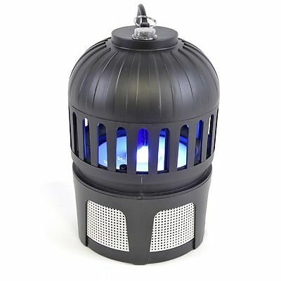 Hanging Midge Killer Ultra Violet Lamp Fan Insect Fly Mosquito Pest In - Outdoor