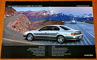 Cool 1999 Acura Tl Luxury Car Ad - Retro 90S Auto