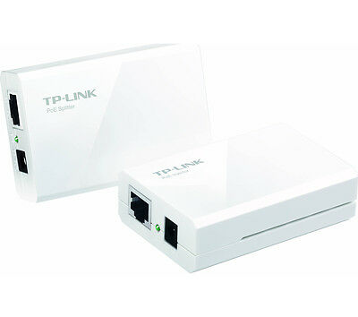 TP-LINK TL-POE200 2-port Plug and Play Ethernet Adaptor Switch White