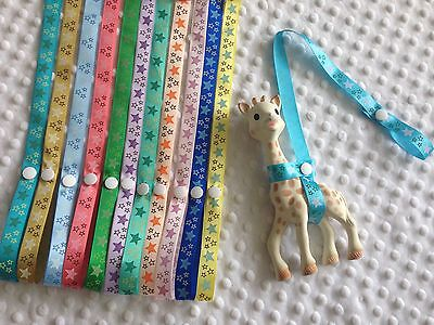 Sophie The Giraffe Strap Toy Saver Leash Holder Harness For Your Teether
