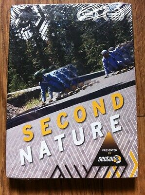 Skateboard Video dvd SECOND NATURE by Sector 9 - New - Longboard Vid
