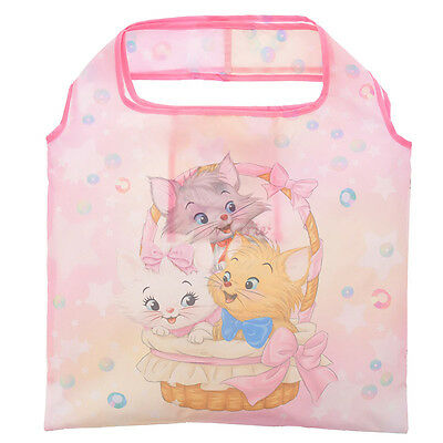 Disney Store Japan The Aristocats Marie Berlioz Toulouse Foldable Eco Bag Pink