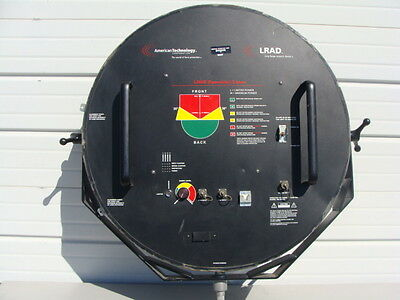 American Technology LRAD Long Range Acoustic Device Sonic Cannon Riot Control