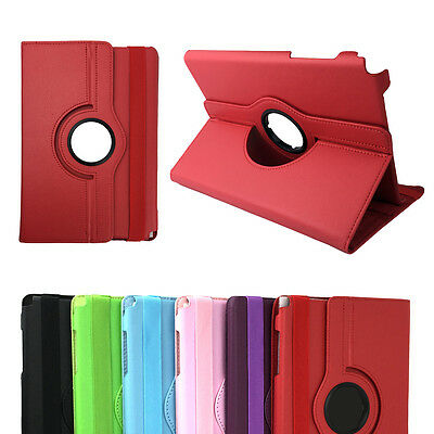 Rotation Leather Flip Stand Case Cover for Samsung Galaxy Tab A 8.0 9.7 Tablet