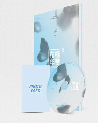 BTS-[In The Mood For Love Pt.2]4th Mini Album Blue CD+Book+Card+Gift+Tracking