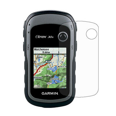 3x Clear LCD Screen Protector Cover Shield Film for Garmin GPS eTrex 10x 20x 30x