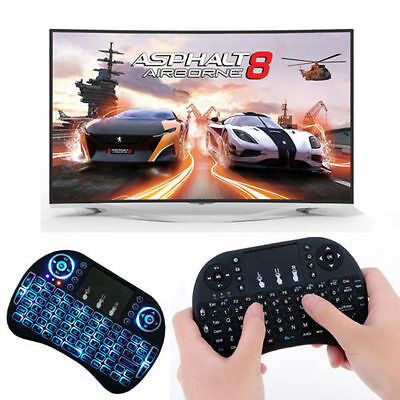 Mini Wireless 2.4Ghz Keyboard Backlit Perfect forRaspberry Pi PC/Android XBOX360