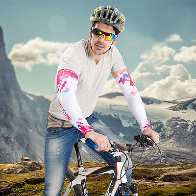 Outdoor Cycling Cuff Sleeve Cover Bike Bicycle Arm Warmers Sun UV Protection